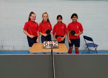 table tennis u13s