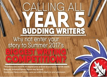 Year 5 writing competition