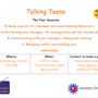 talking teens poster